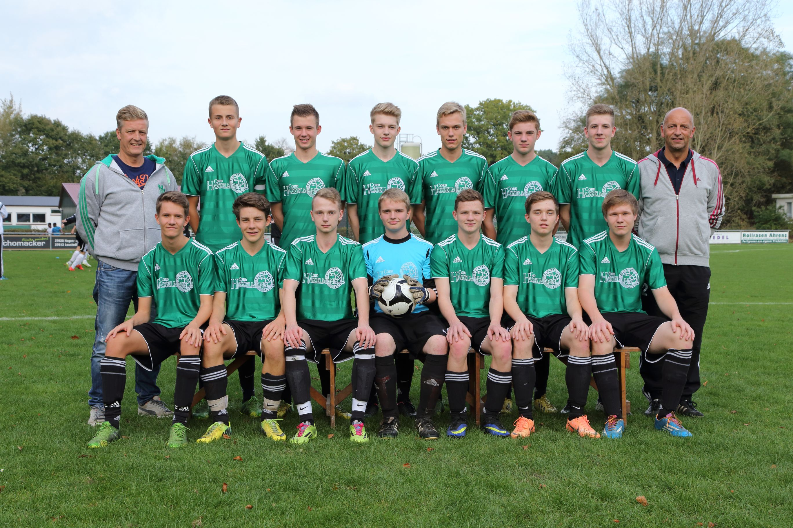 JFV Staleke U18 - Mannschaftsfoto -